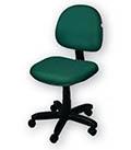 Cadeira Executiva Caixa Sem Braços Giratória