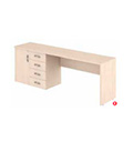 Módulo mesa armário 4 gav. + porta L/E